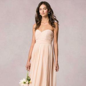 Jenny Yoo Blush Chiffon Mira Formal Bridesmaid/MOB